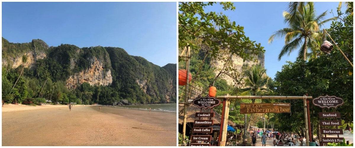 ao nang beach thailande krabi