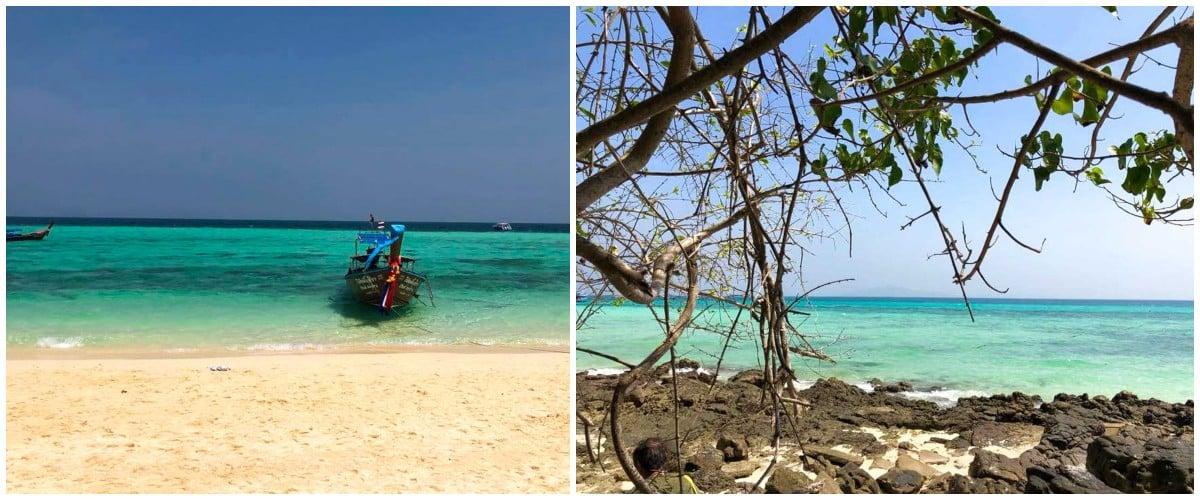 île koh phi phi plage mer