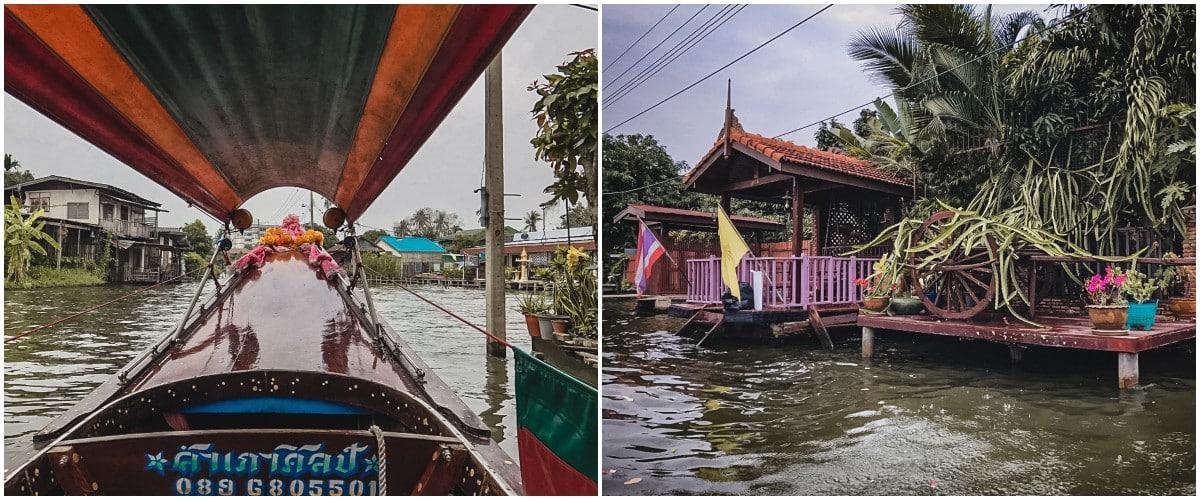 khlongs bateau rivière bangkok