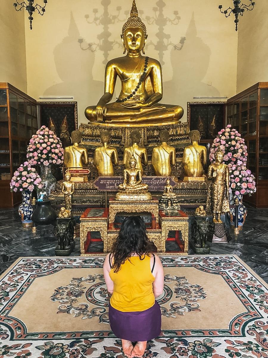 temple bouddha bangkok