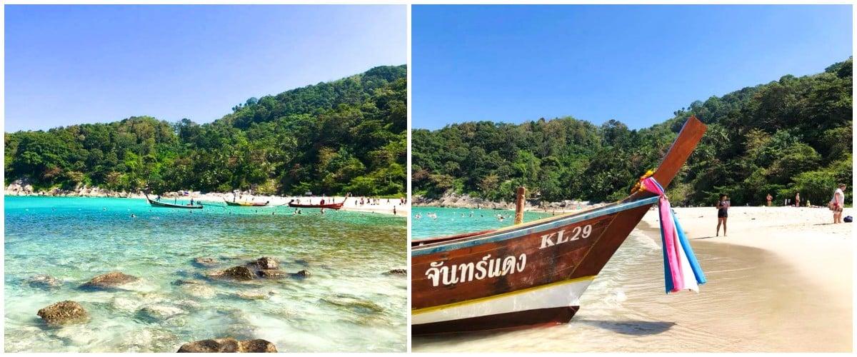 plage longboat patong