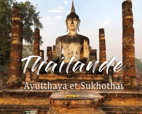 bouddha thaïlande sukhothai