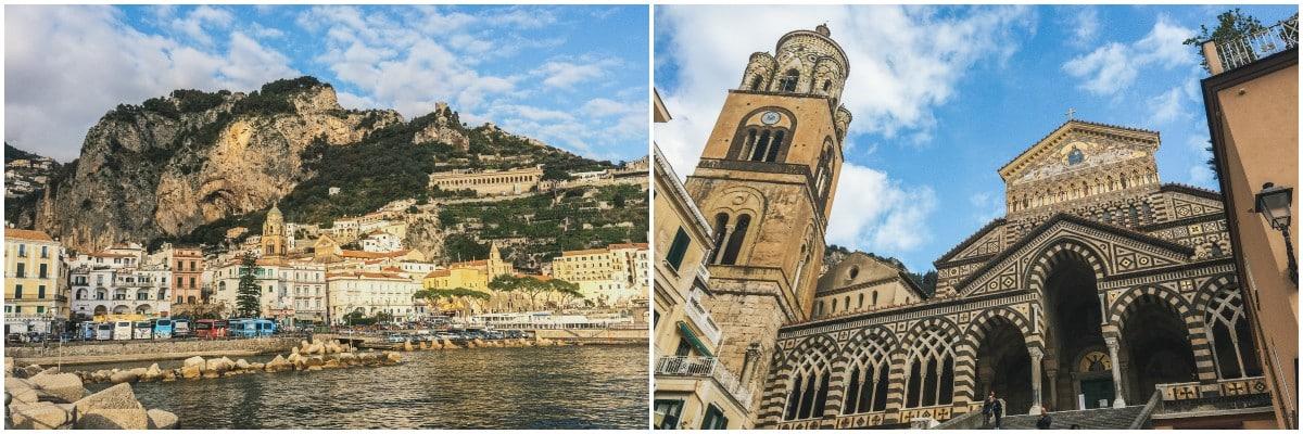 côte cathédrale amalfi naples