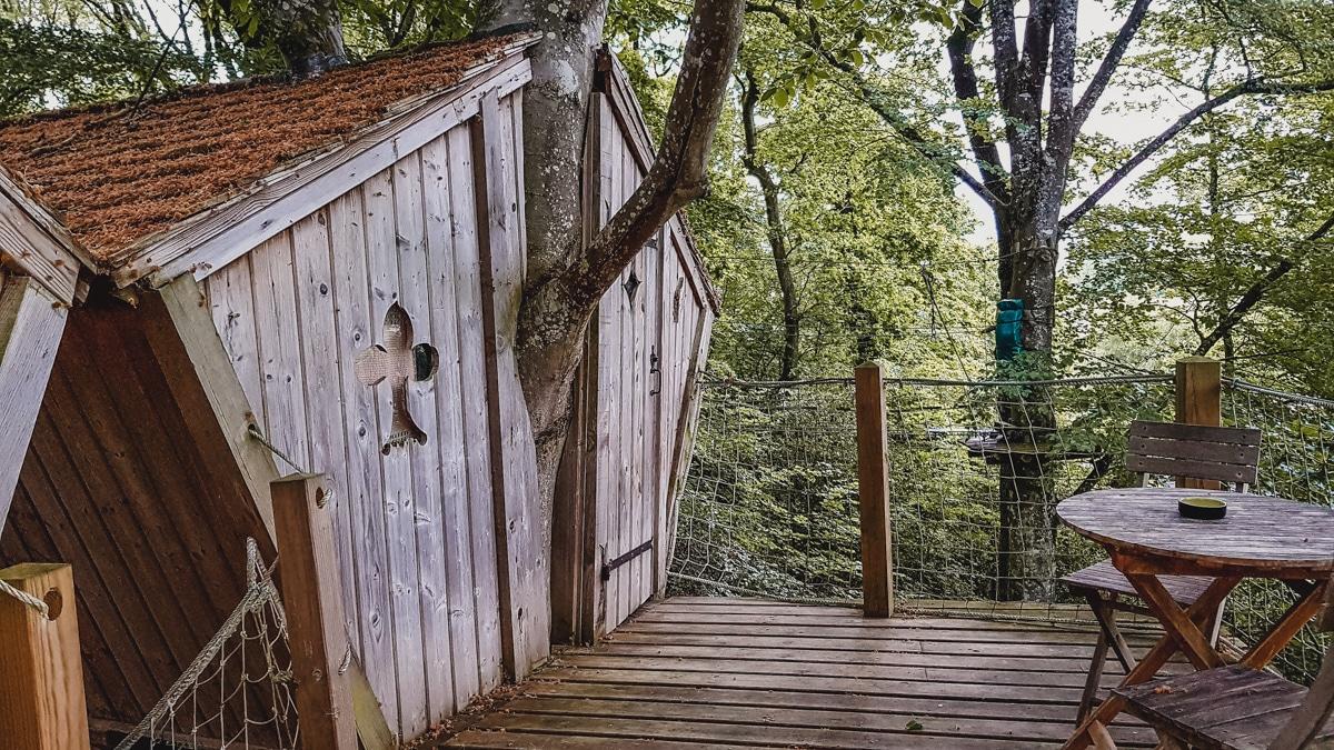 cabane arbres morbihan