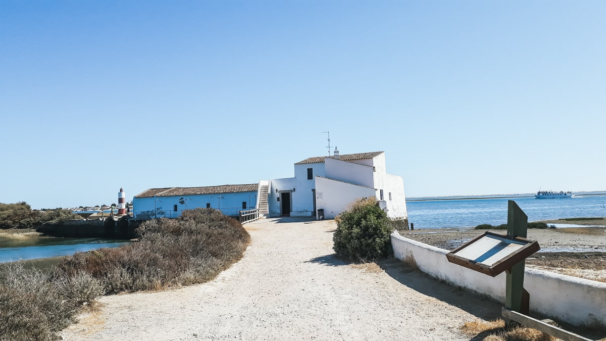Algarve olhao moulin maree