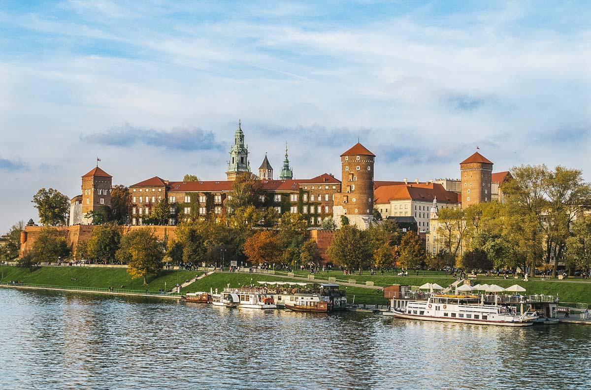 rivière château cracovie
