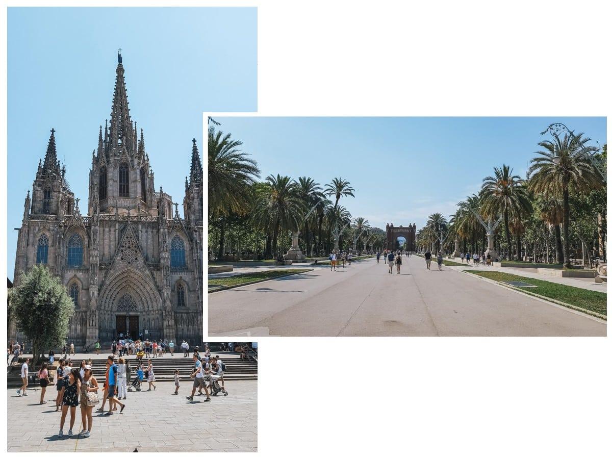 barcelone basilique arc