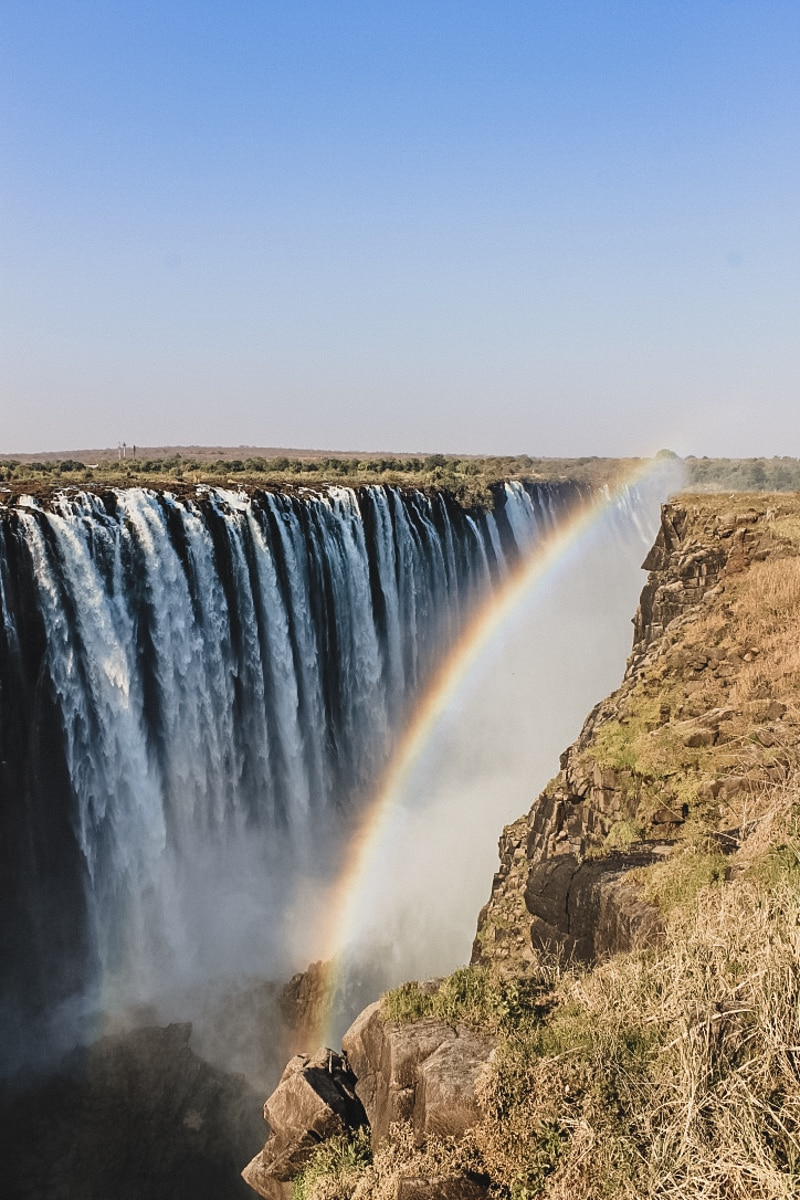 chutes arc en ciel afrique