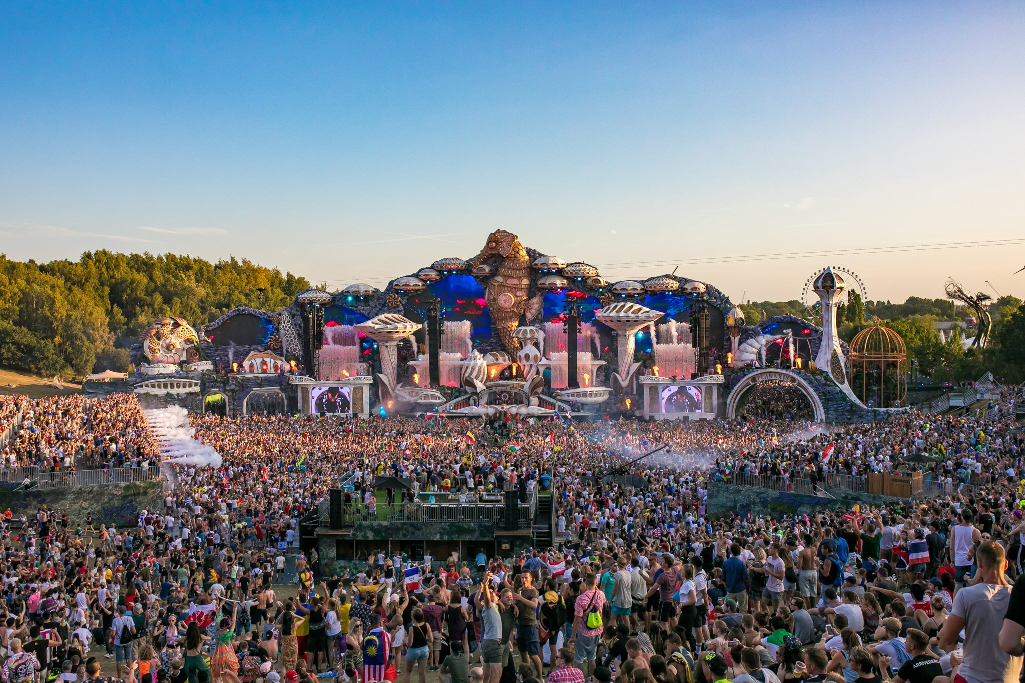 Festivals Tomorrowland 2018 mainstage