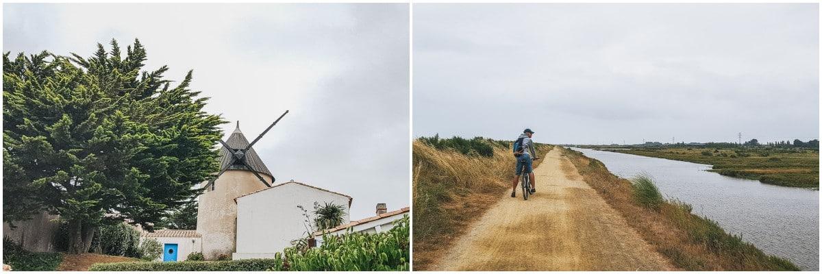 noirmoutier moulin vélo