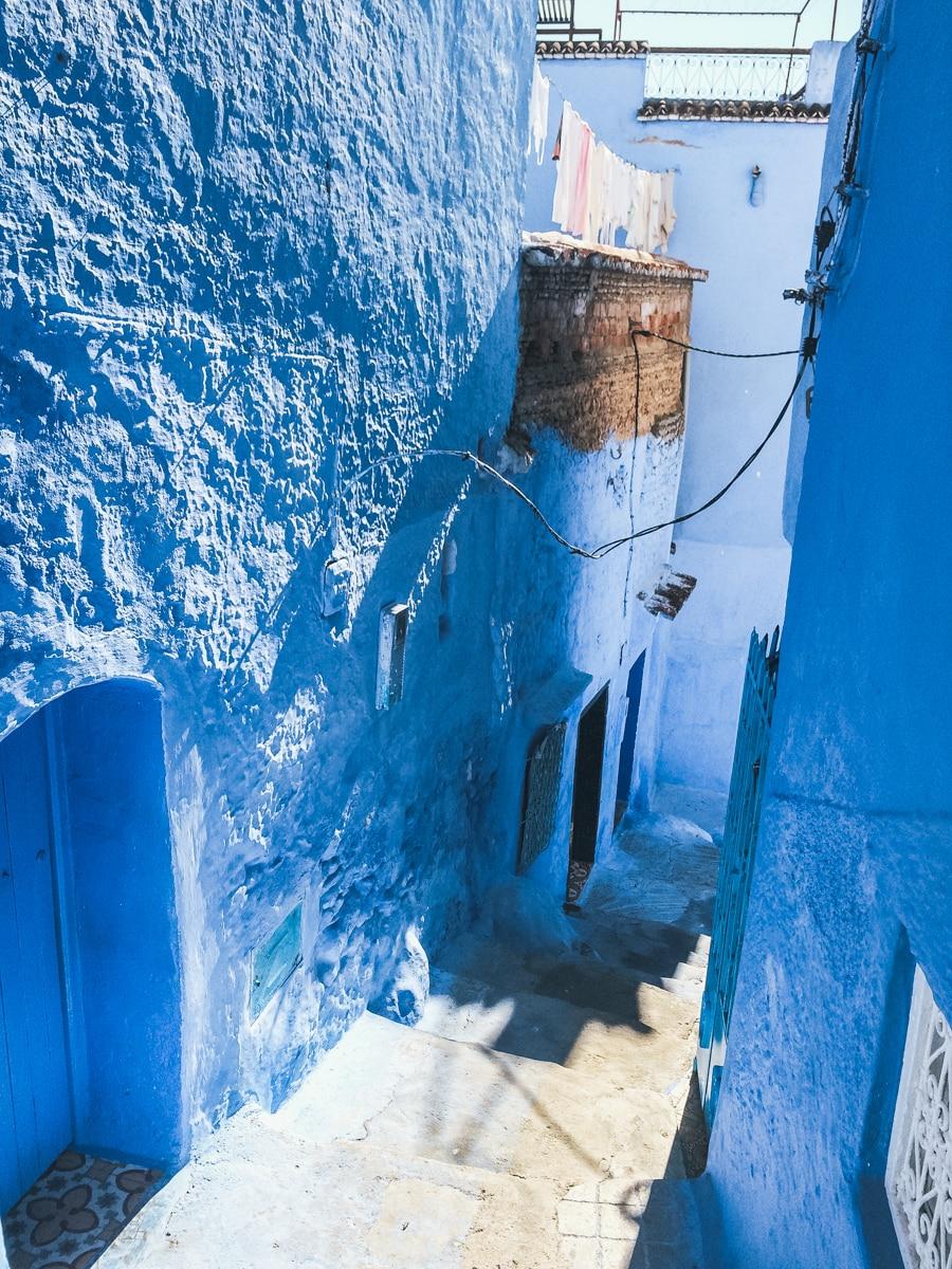 ruelle bleu chefchaouen