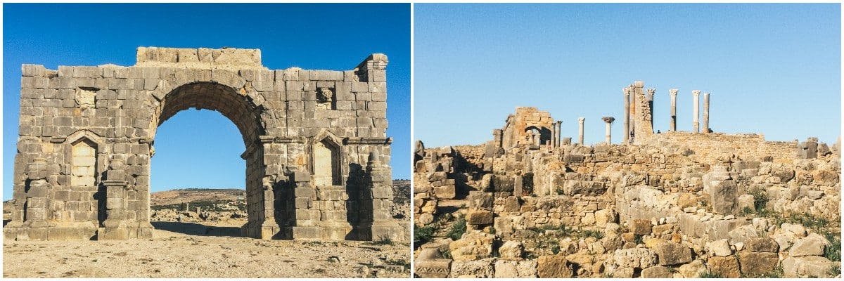 arche ruine maroc volubilis
