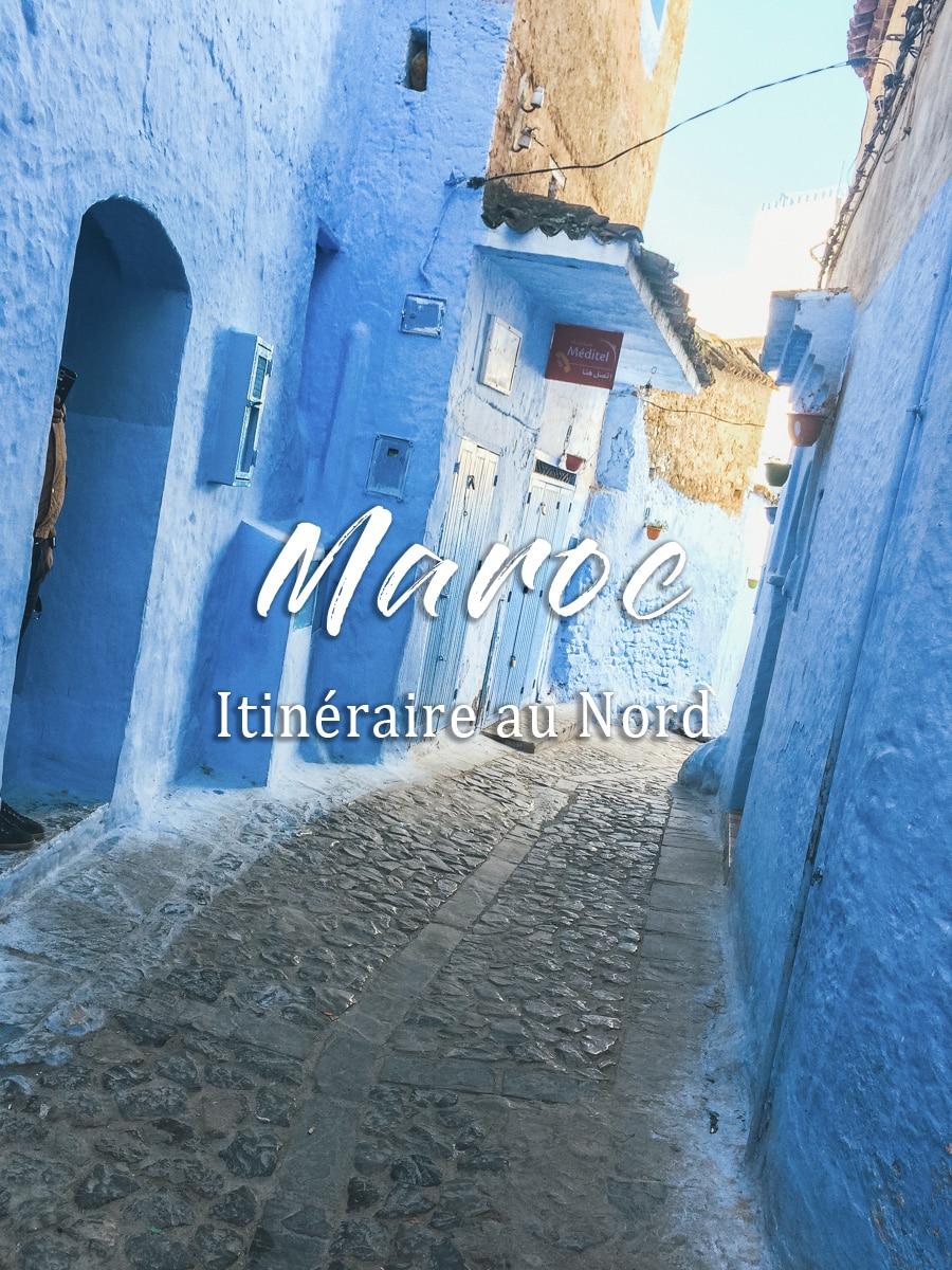 chefchaouen ruelle maroc nord