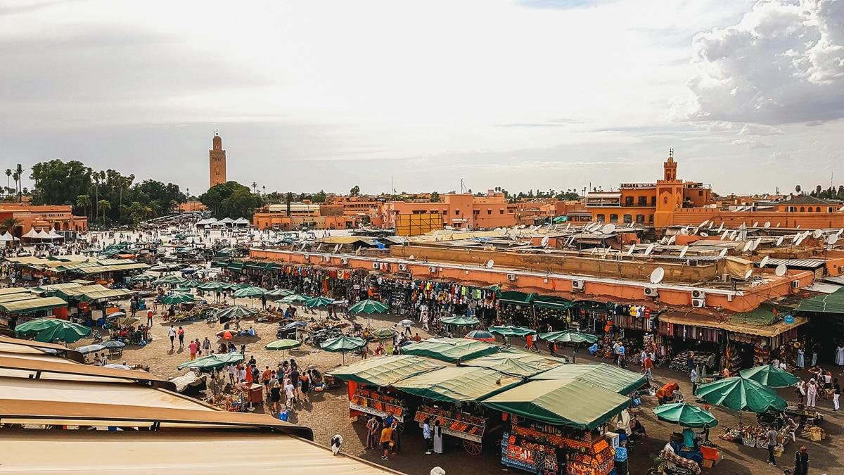 place jema koutoubia marrakech