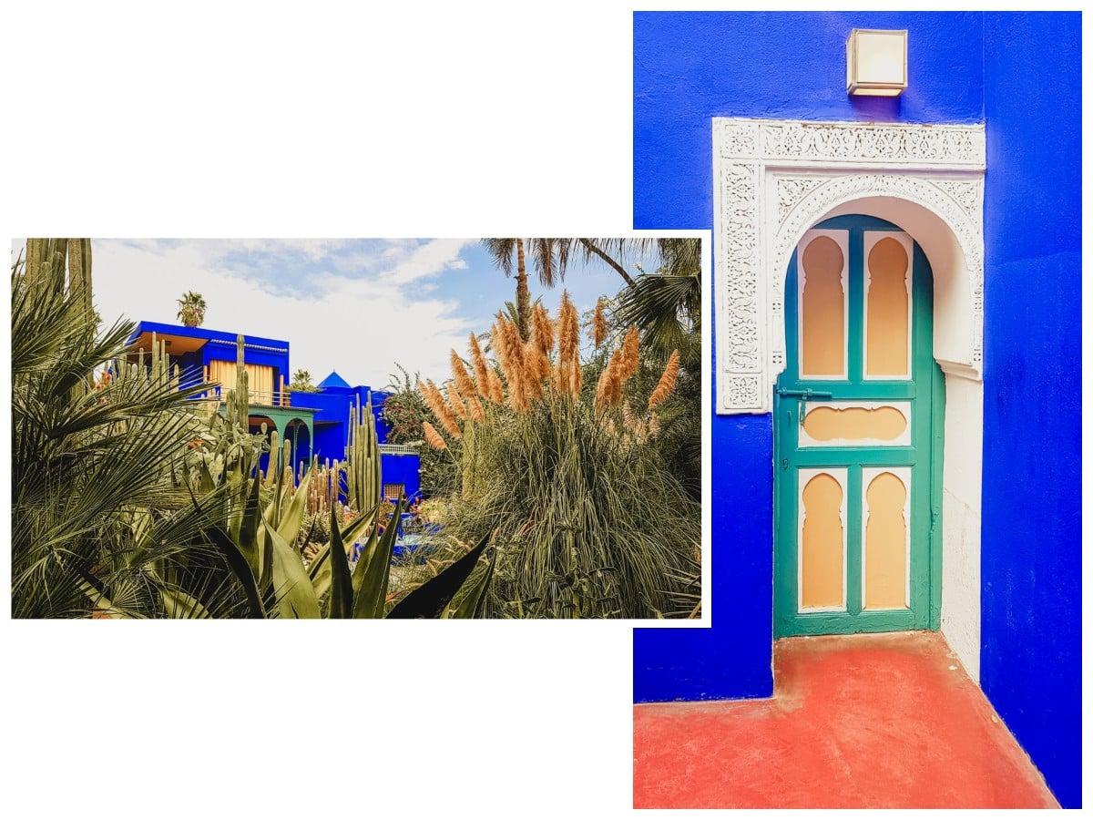 majorelle jardin maisons marrakech