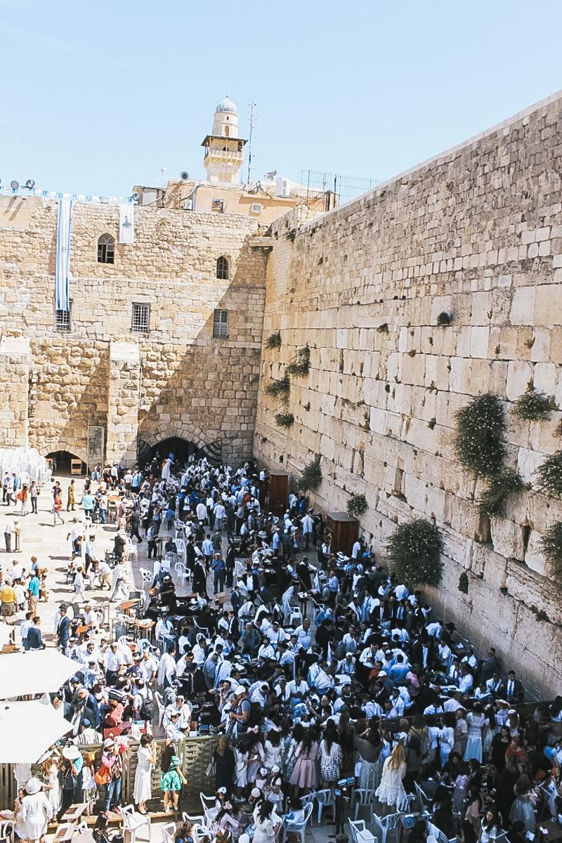 mur foule jérusalem