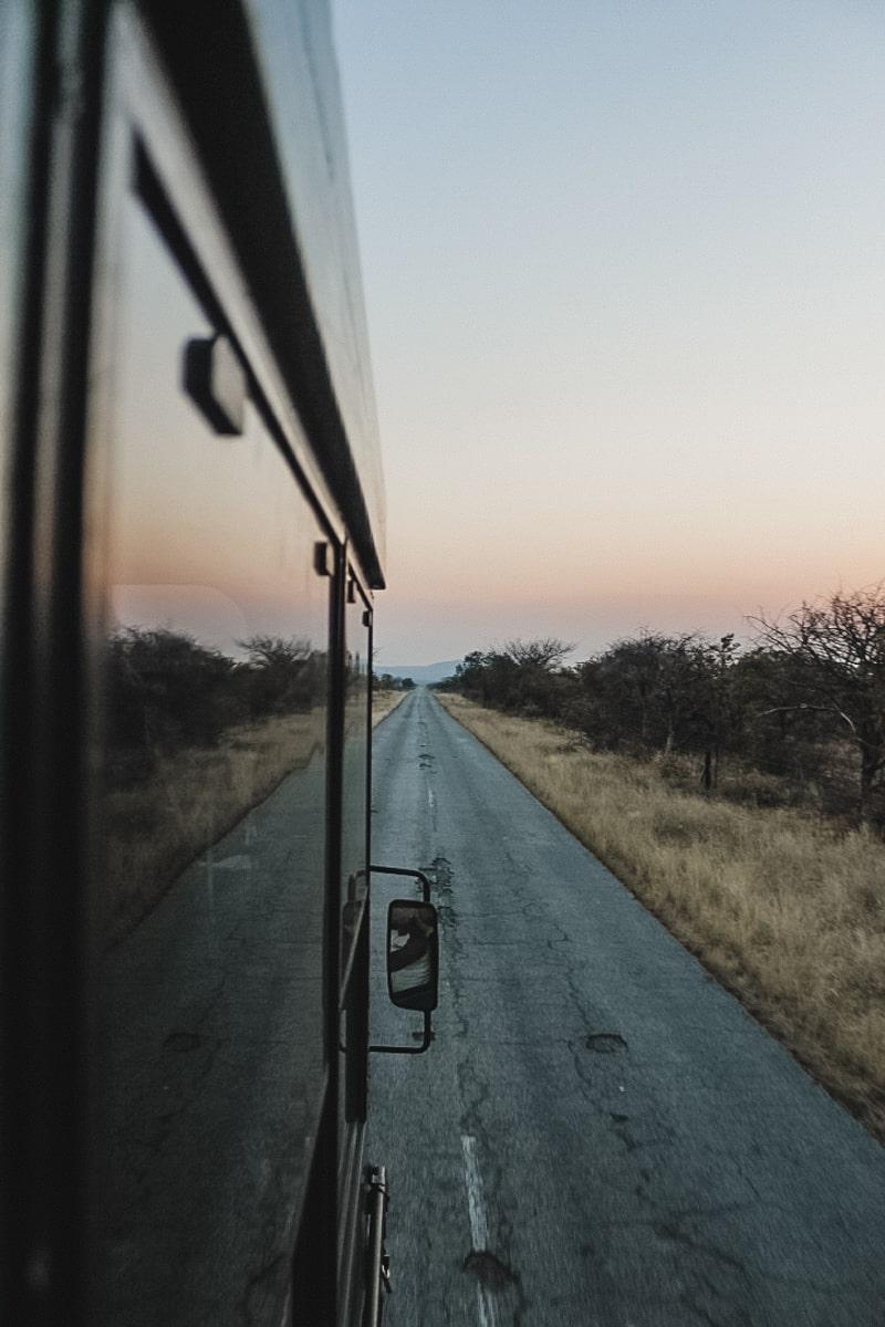 route savane camion afrique sud