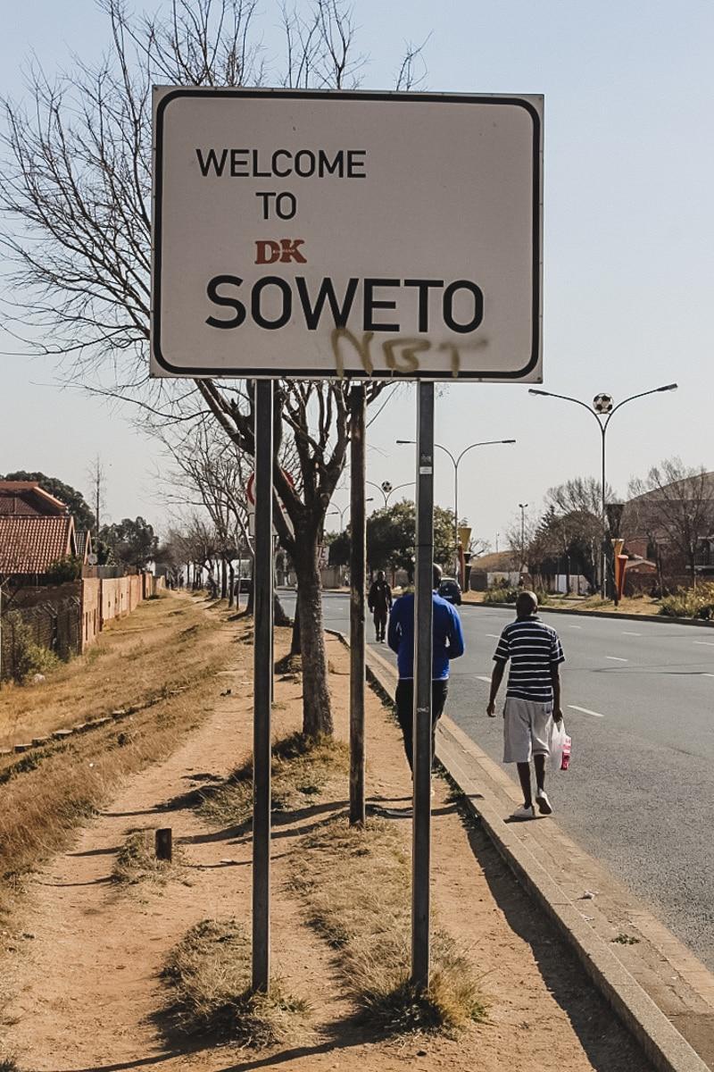 panneau soweto afrique du sud