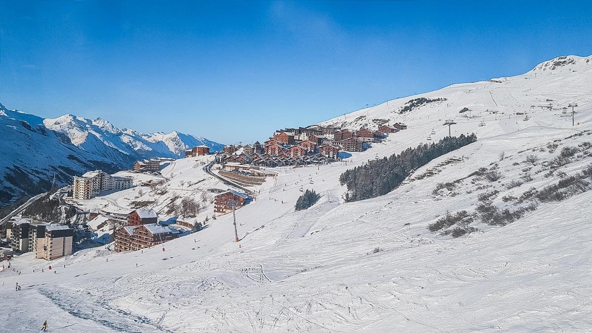 neige montagne chalets alpes ski
