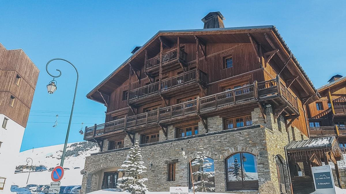 chalet neige montagne alpes