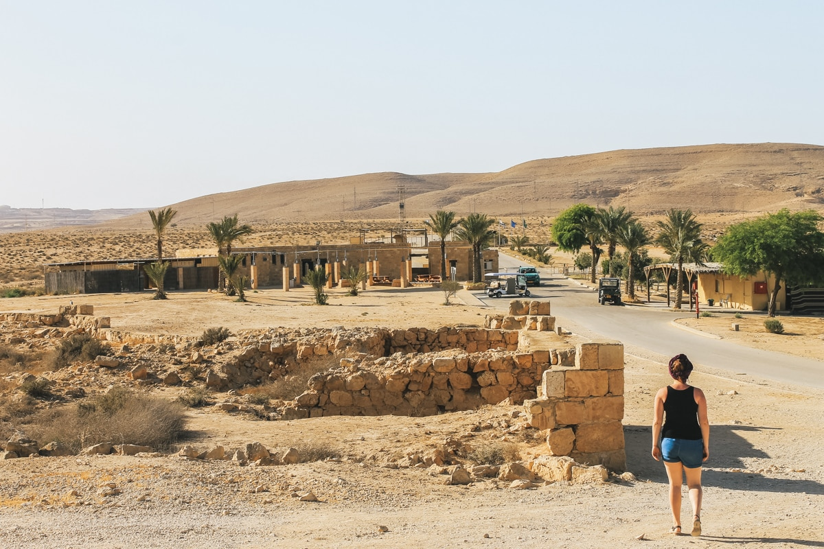 carole mamshit ruines israël