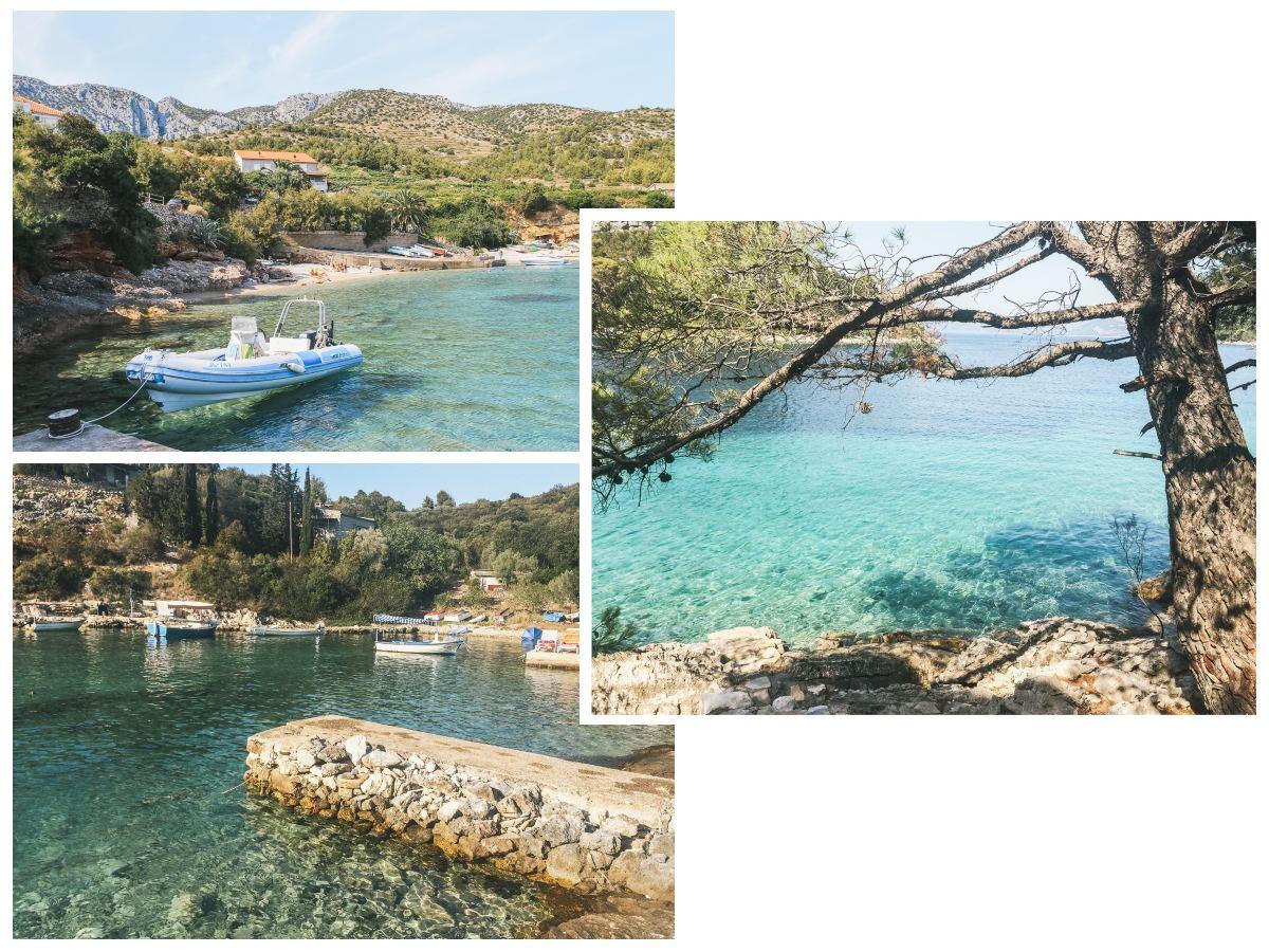 croatie itinéraire criques