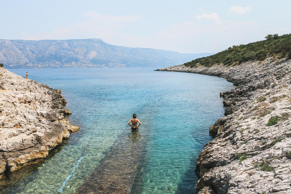 carole mer hvar croatie