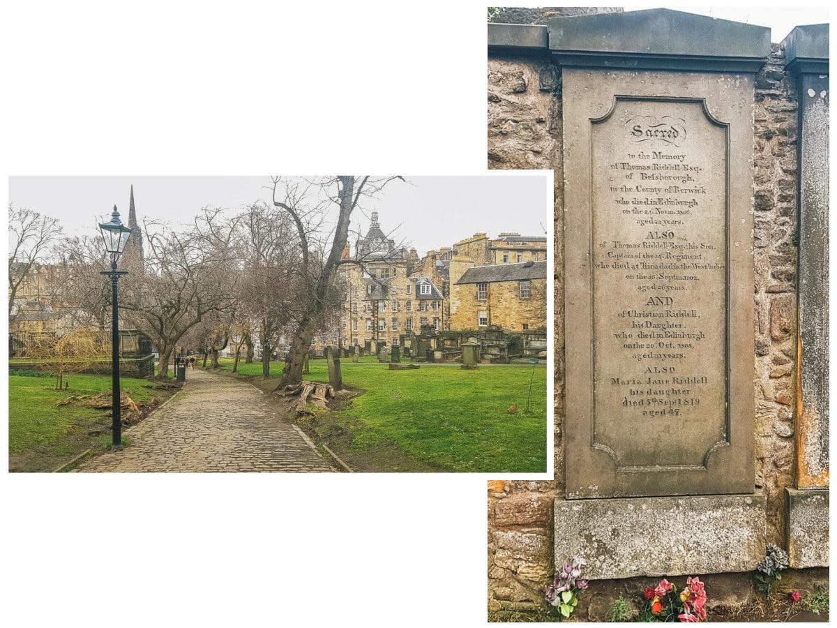 cimetière tombe edimbourg