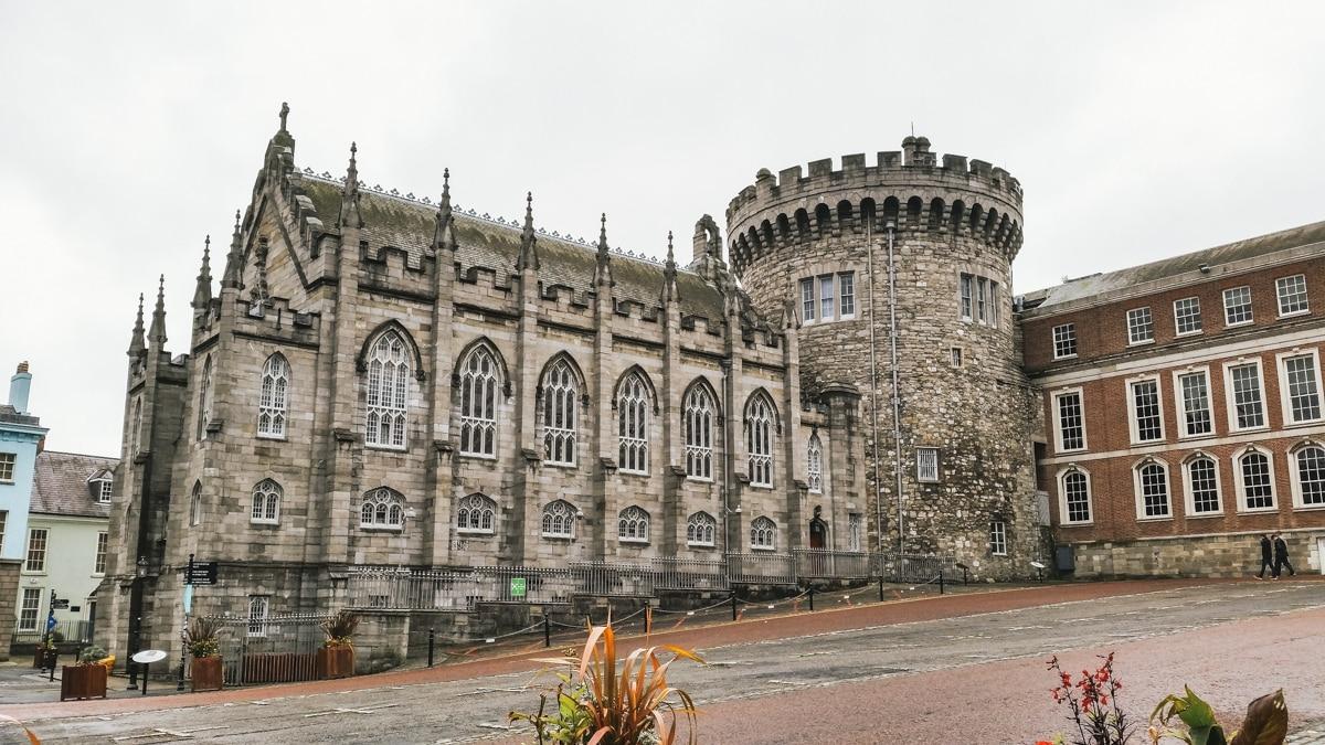 dublin castle irlande