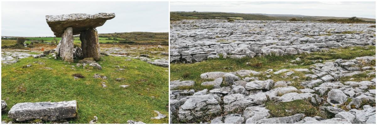 dolmen poulnabrone irlande