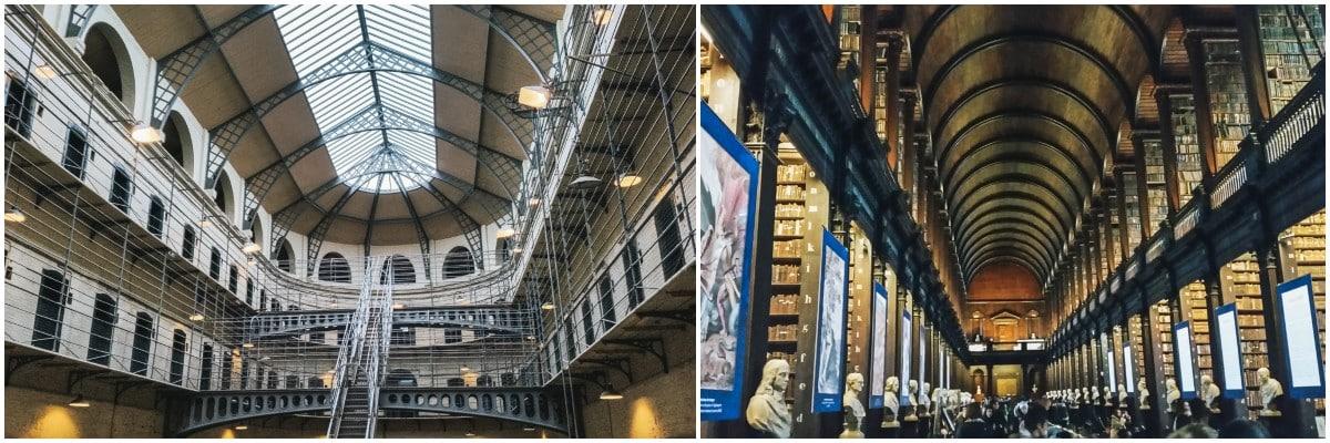 prison bibliothèque irlande