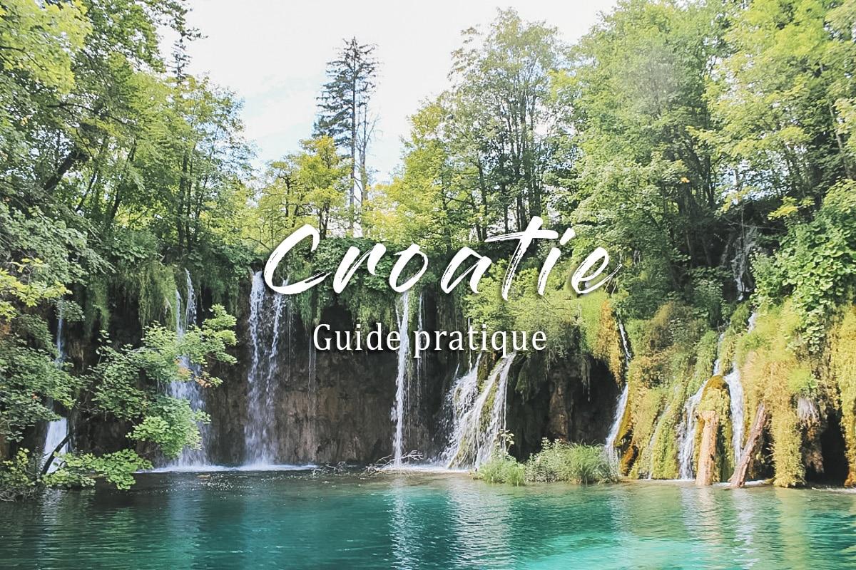 parc cascade lac croatie plitvice