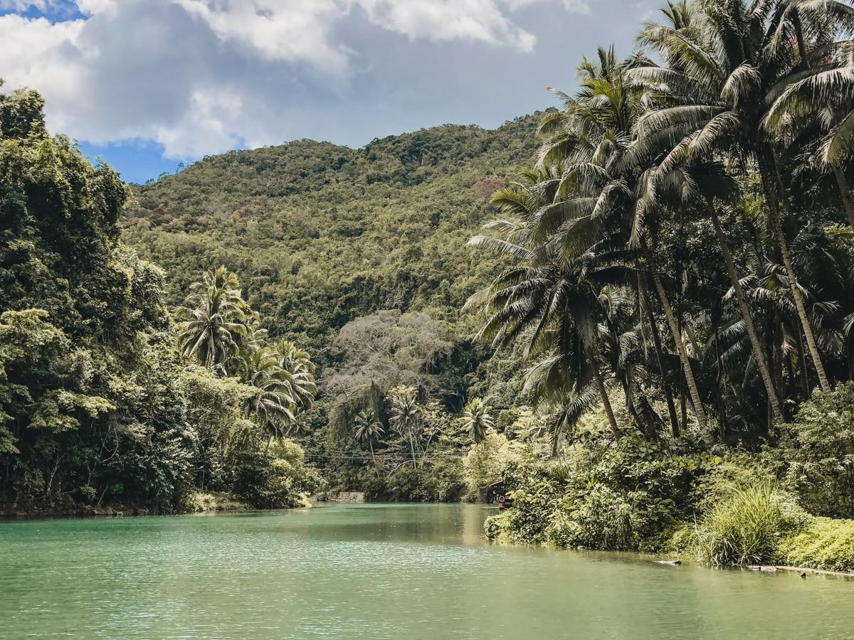 rivière nature plamiers philippines bohol