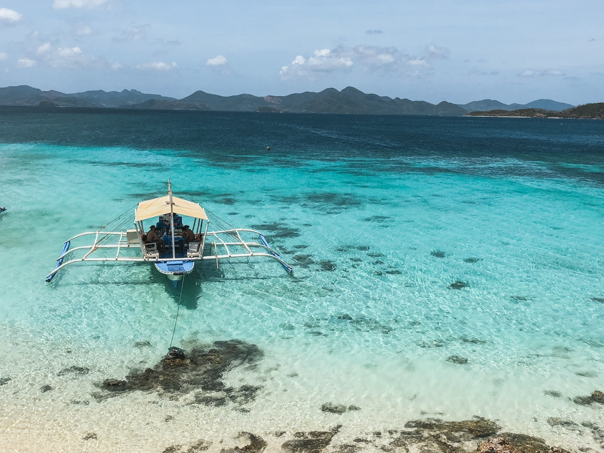 coron mer bangka philippines coron