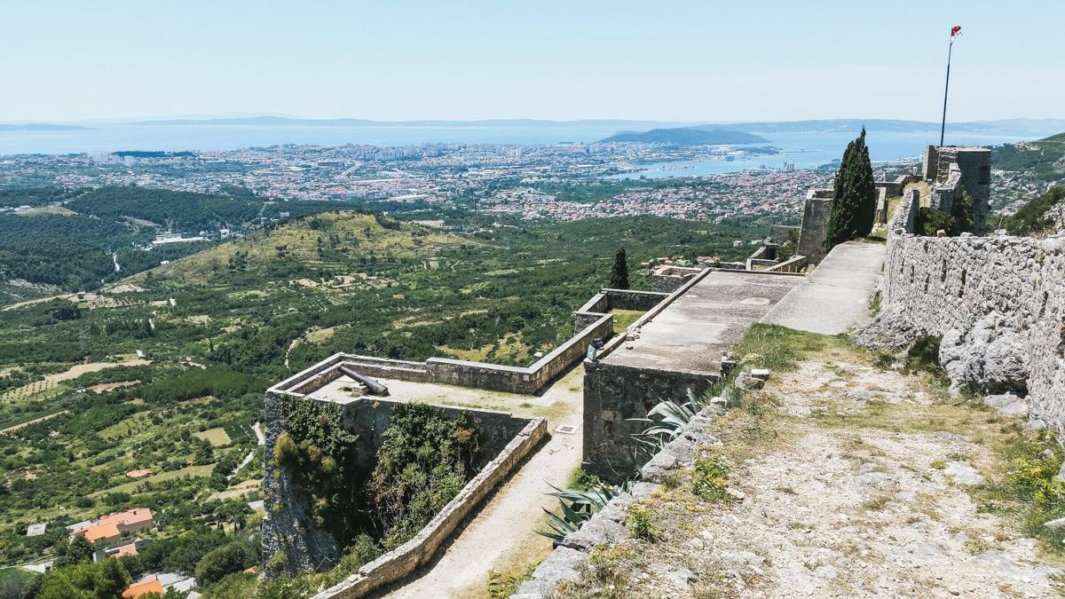 forteresse klis split croatie