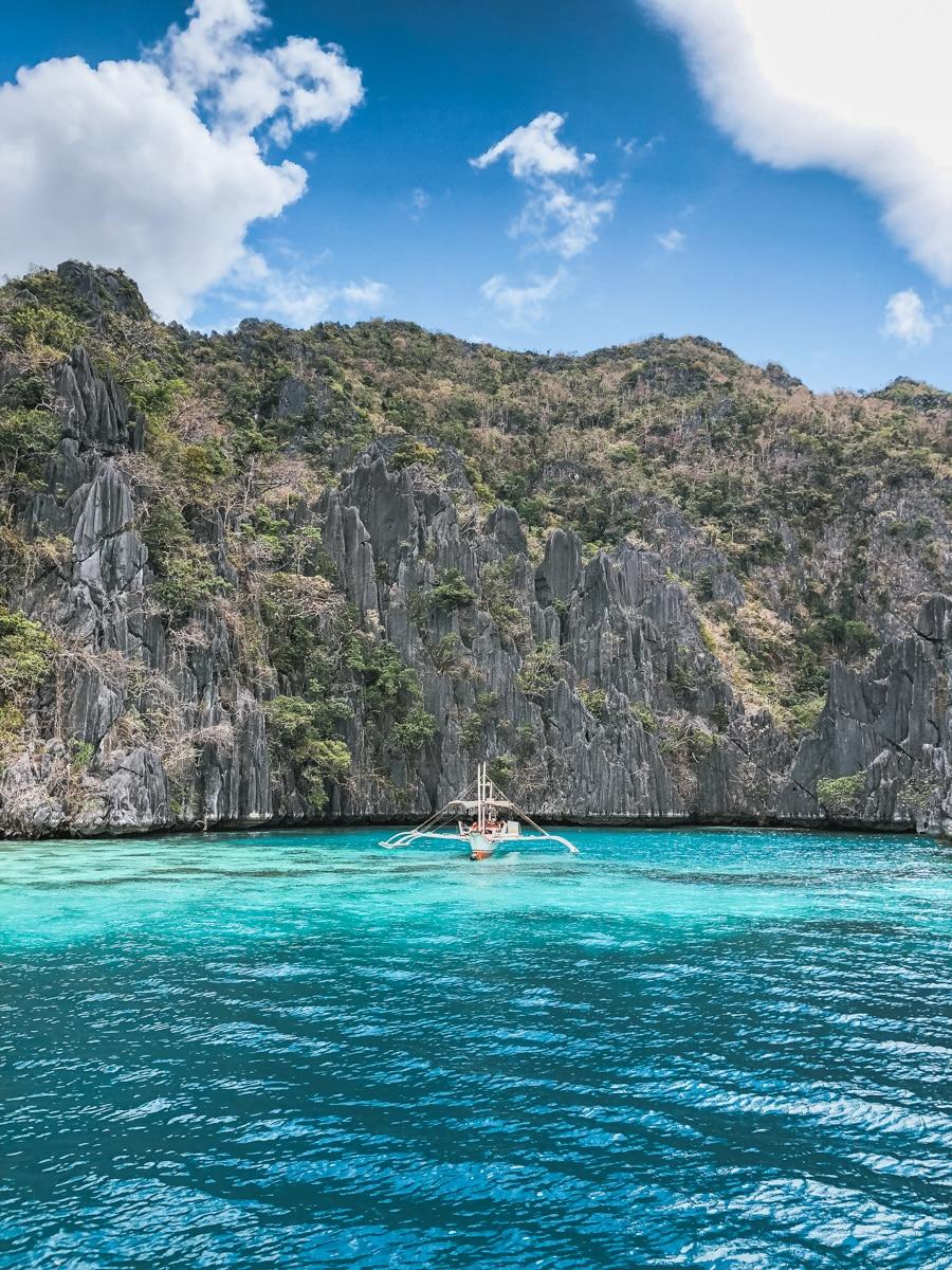 bateau mer philippines coron