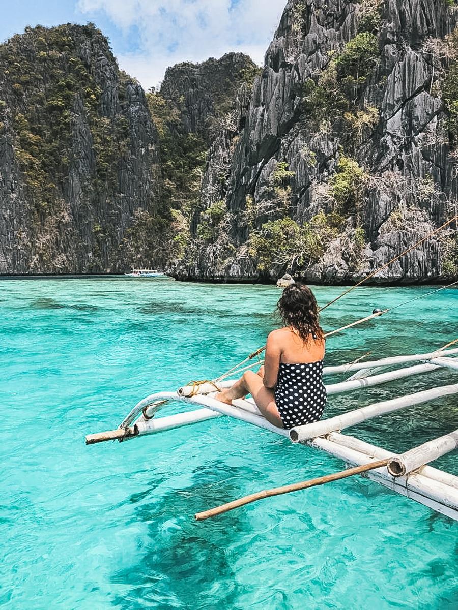 carole mer bangka coron philippines