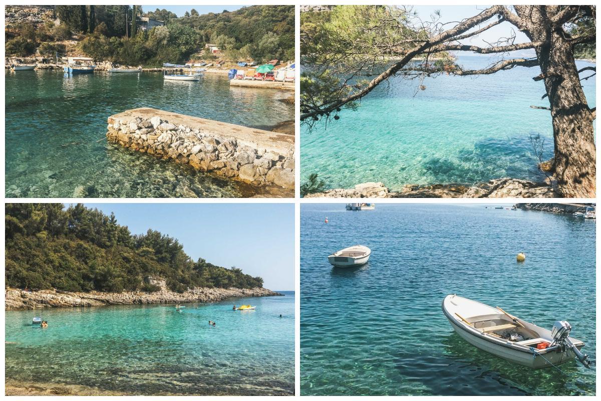 criques île croatie