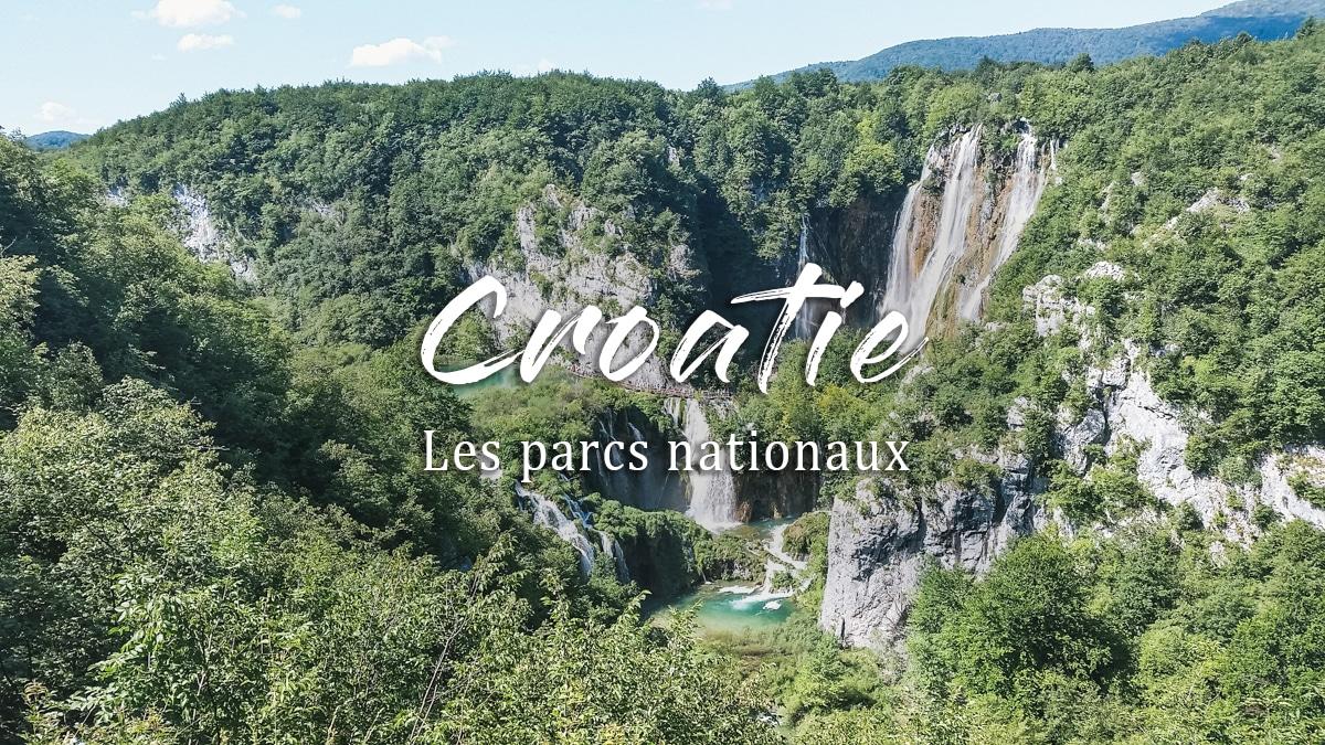 lac cascades croatie plitvice