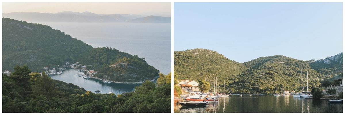 croatie île village