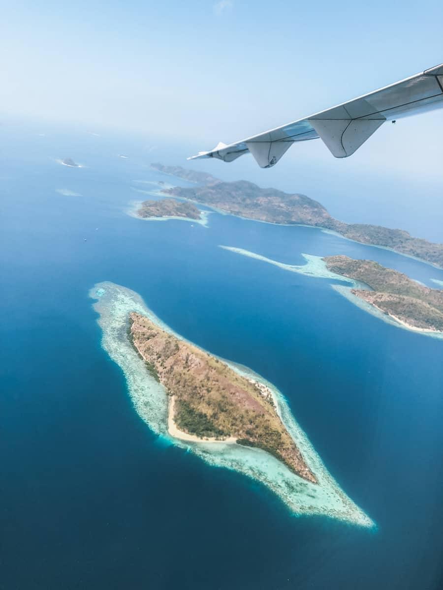 avion île mer coron philippines