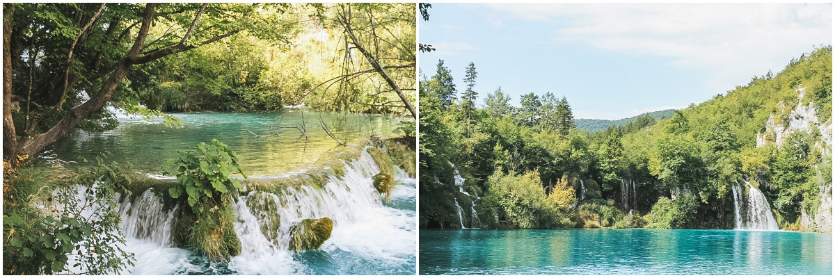 lac eau cascade plitvice croatie