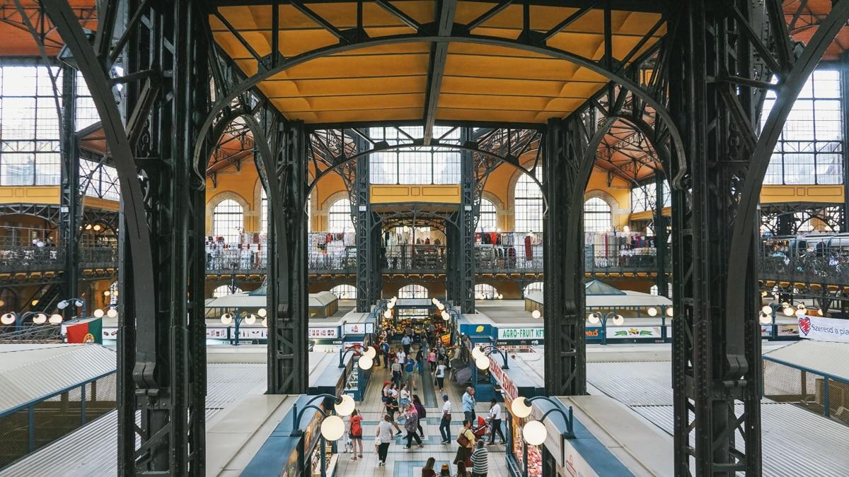 halles marché budapest