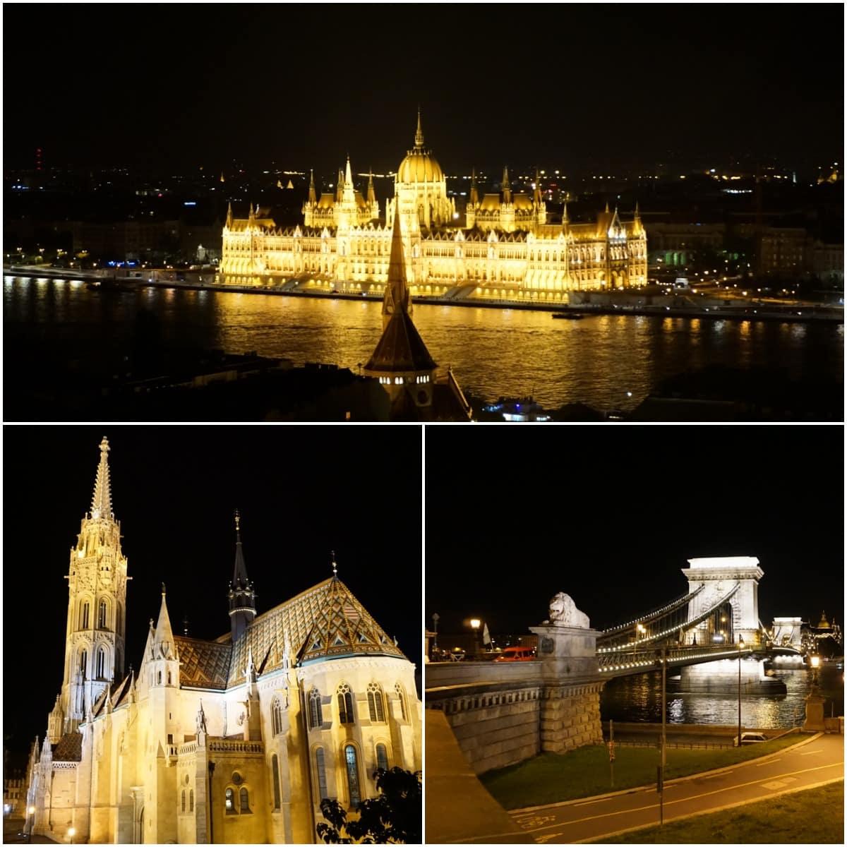 parlement église pont budapest