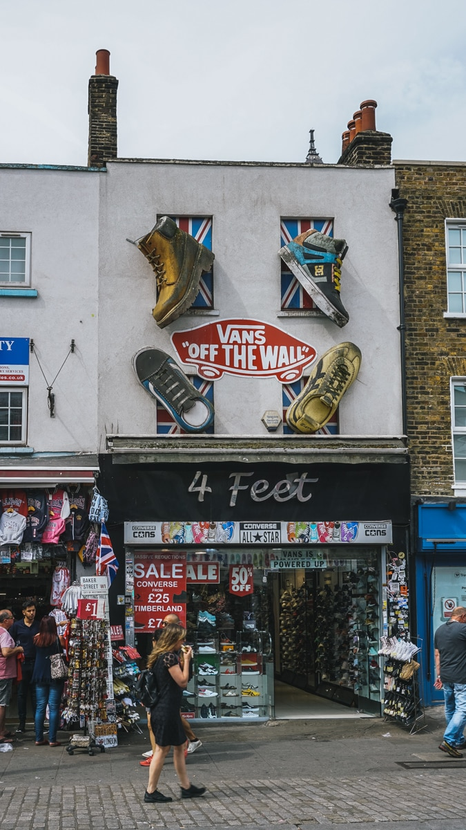 boutique chaussure londres