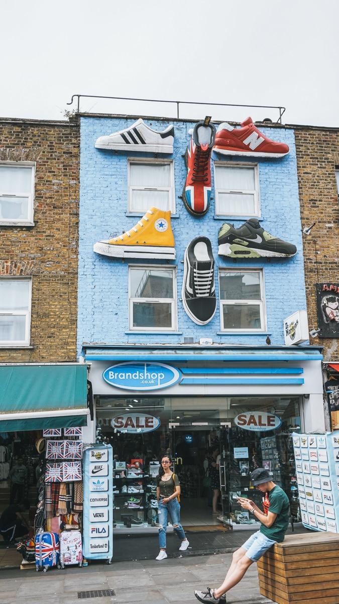 boutique chaussures londres