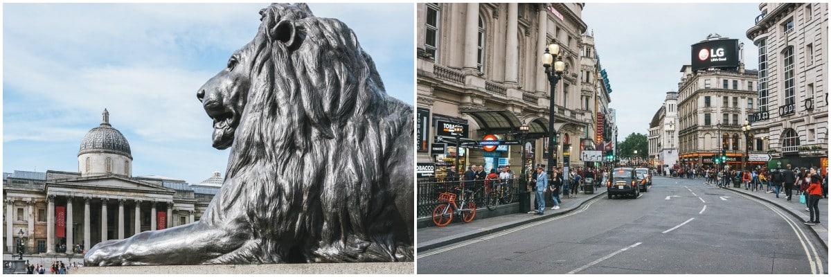 londres musée lion