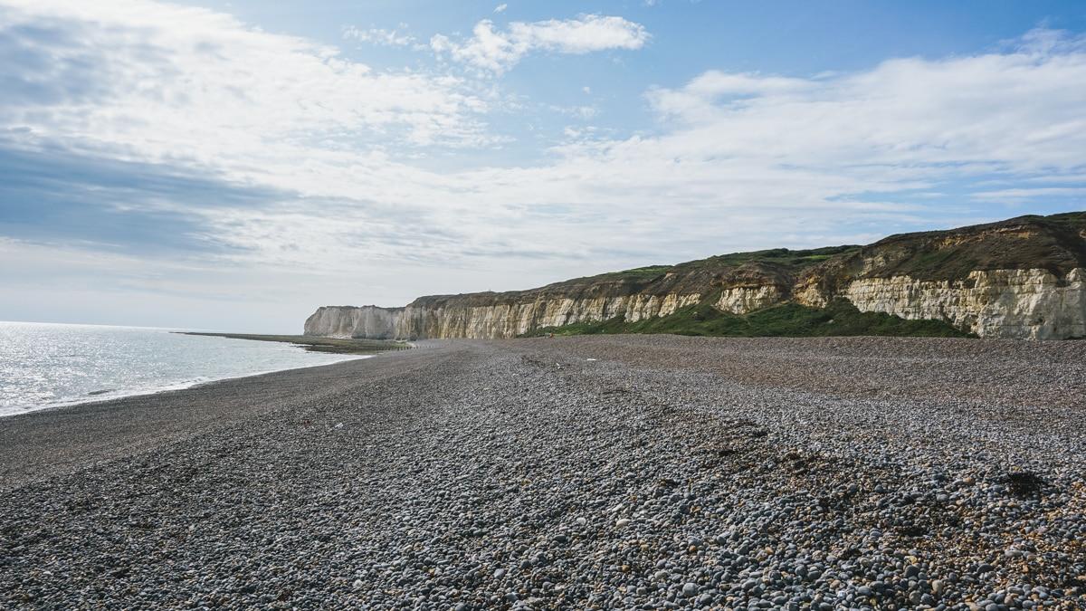 plage falaises londres