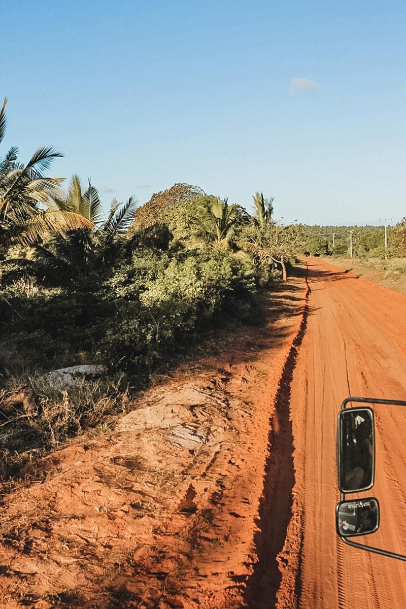 route terre végétation mozambique