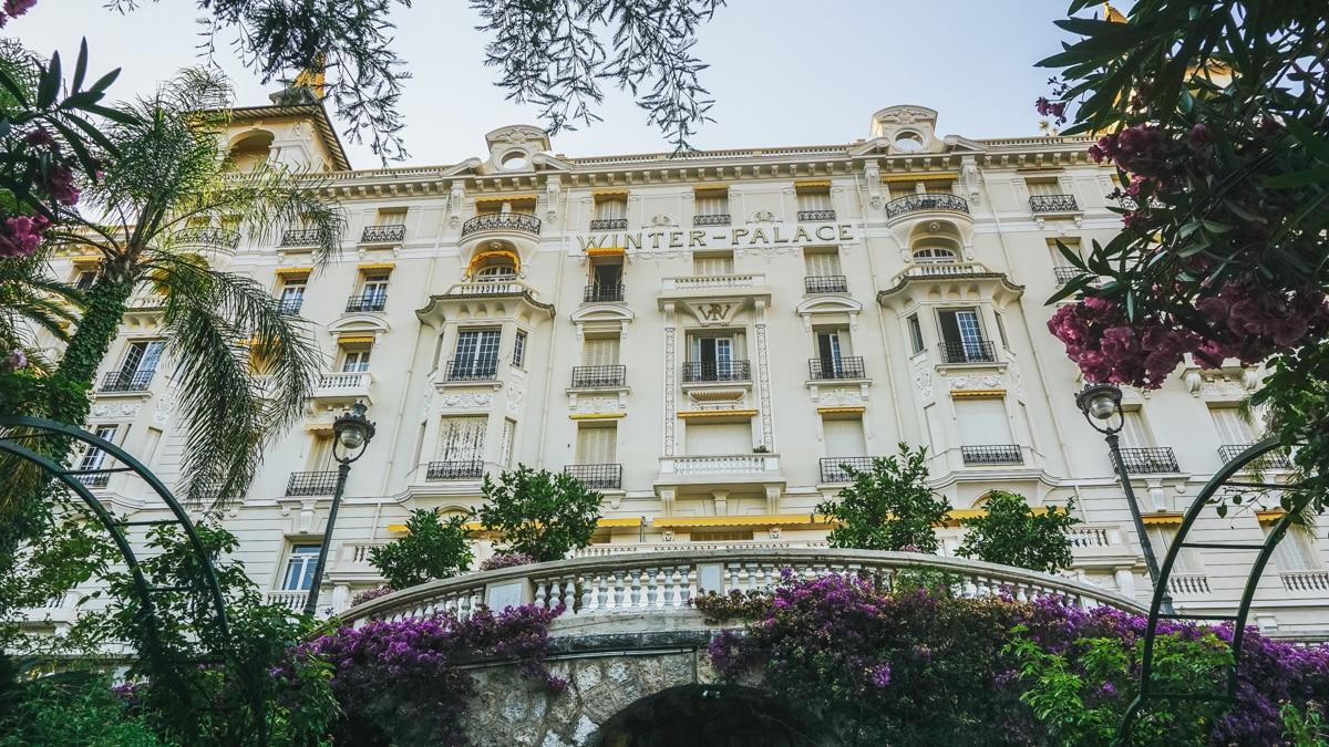 hôtel fleurs menton cote azur